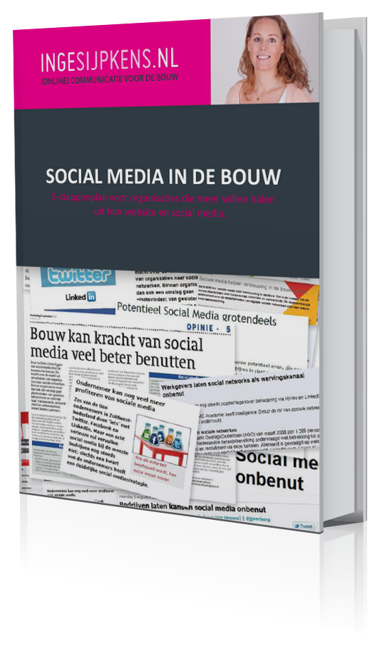 Gratis ebook over social media in de bouw