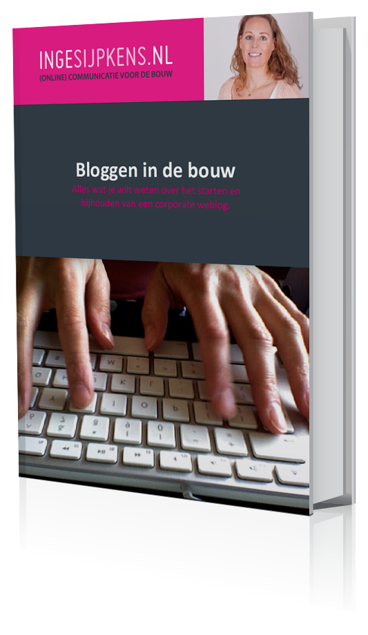Gratis eBook over het starten en bijhouden van een weblog in de bouw