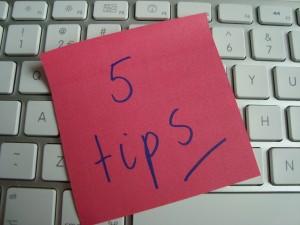 Schrijven voor internet 5 tips