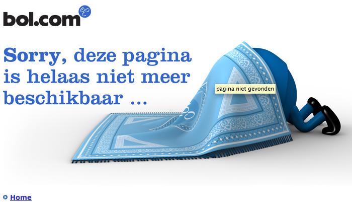 404 pagina van bol