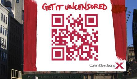 QR-code Calvin Klein
