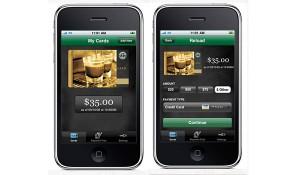 De app van Starbucks