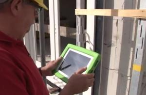 iPad op de bouwplaats ED Controls