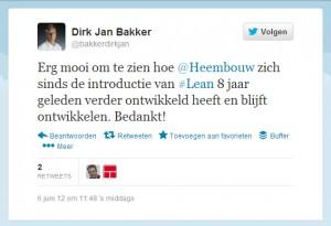 compliment social media Heembouw