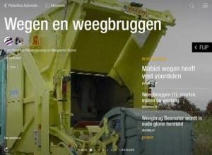 Eenvoudig je eigen online magazine samenstellen met Flipboard. Voorbeeld uit de branche: PieterBas Automatisering