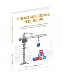 Boek Online marketing in de bouw installatie en vastgoed