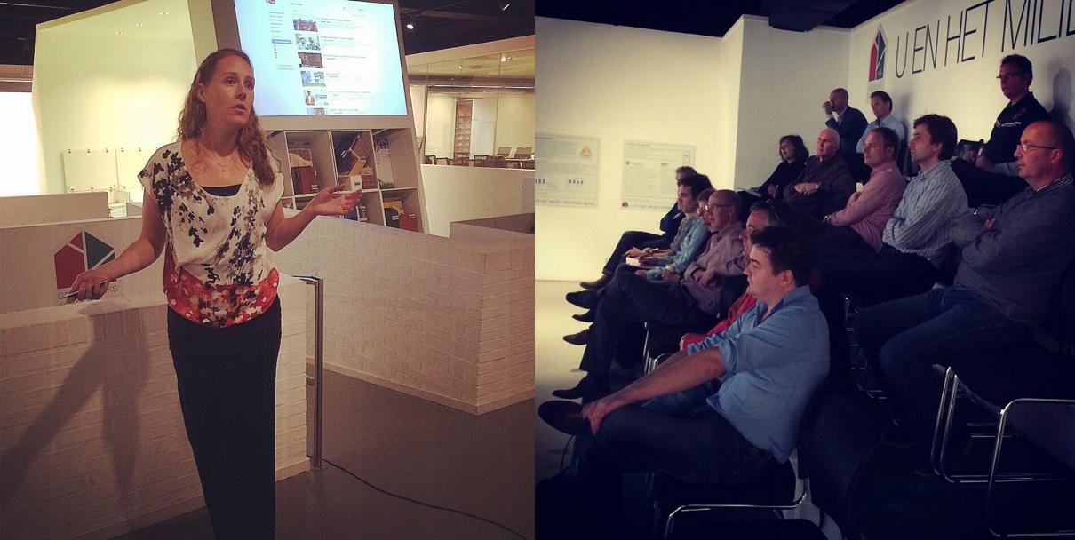 Presentatie social media in bouw vastgoed en installatie