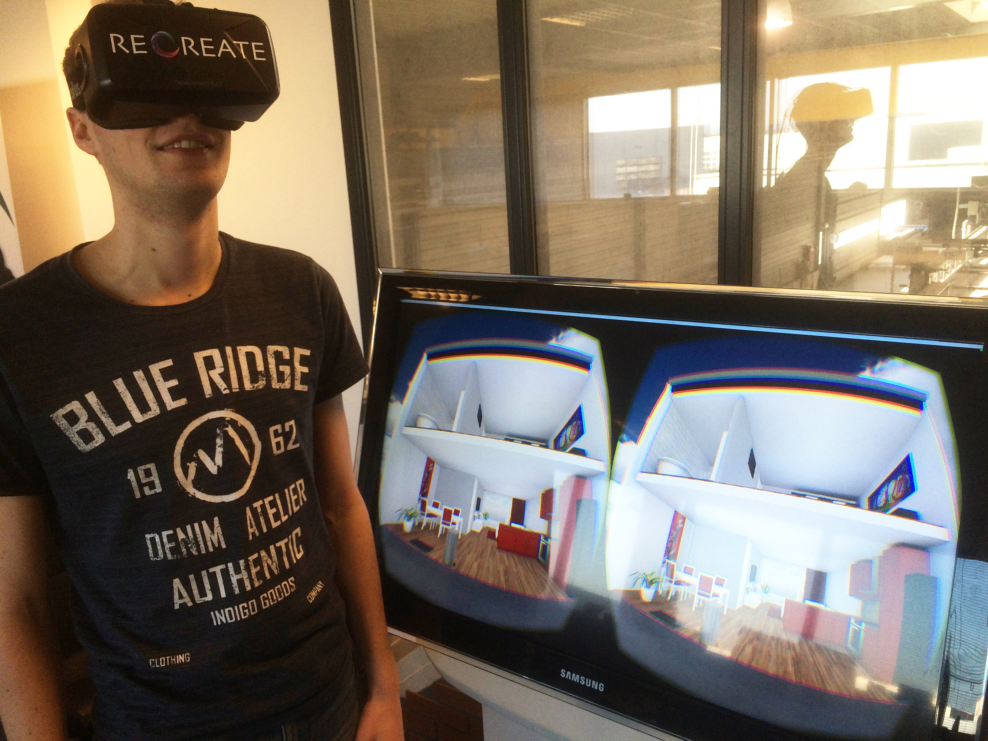 Virtual reality in de bouw (Recreate en BJW Wonen)