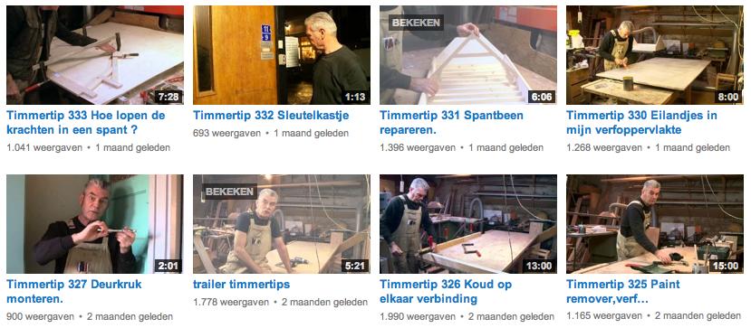 Timmerman Koos Overdevest | Timmertips op YouTube