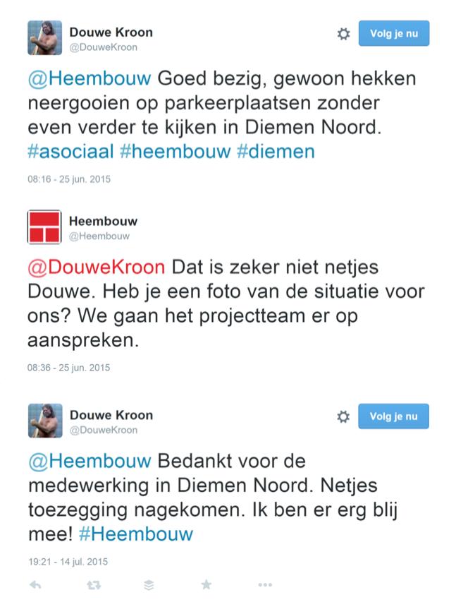 Krijg je klachten via Twitter, Facebook of Werkspot.nl? Dit is wat je ertegen kunt doen